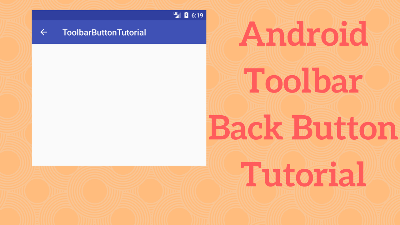 Android Menu Icon Size android toolbar back button tutorial - coding demos