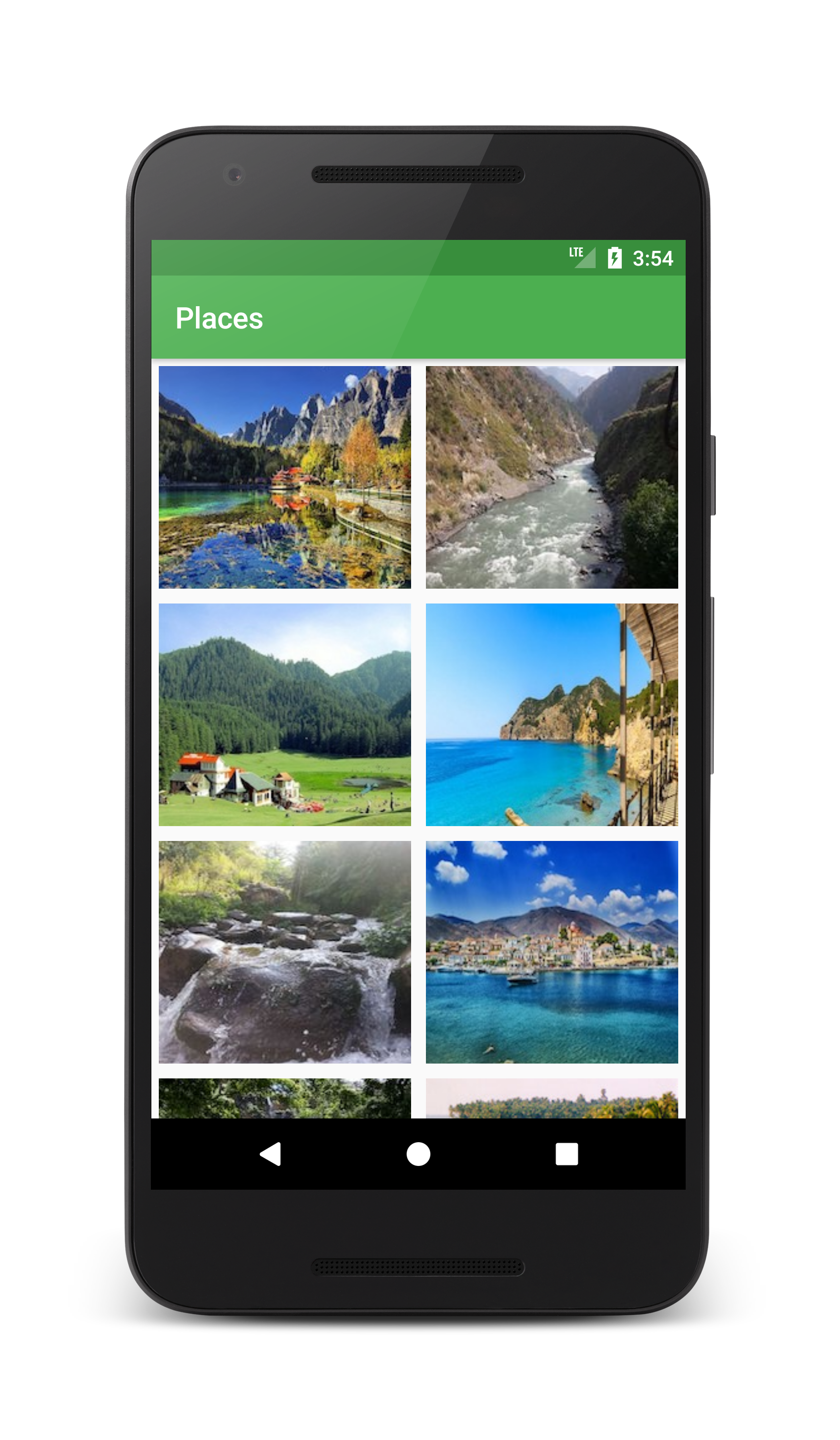 Android Gridlayout Example With Recyclerview - Coding Demos
