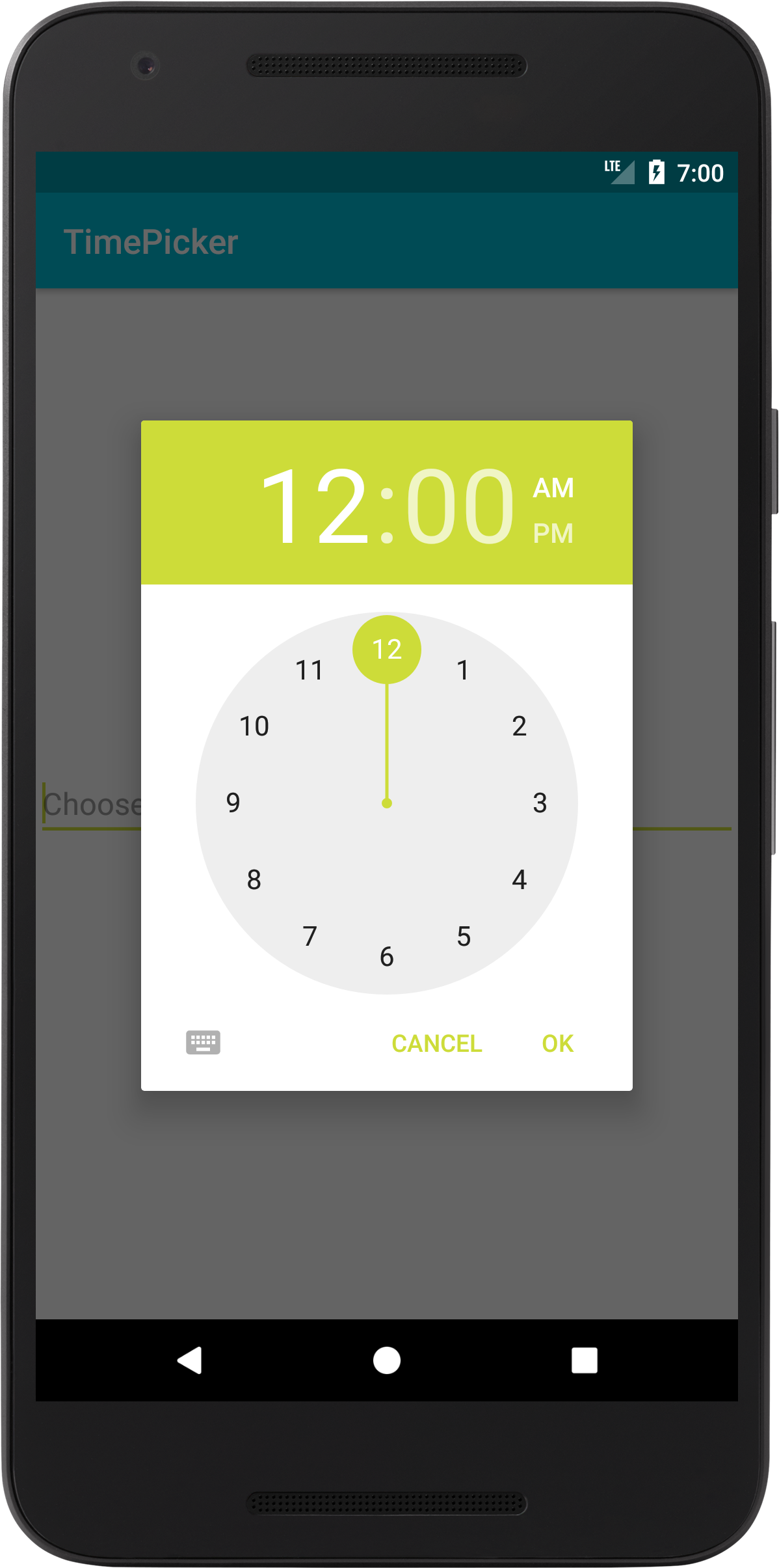 Android Image Picker android time picker - coding demos