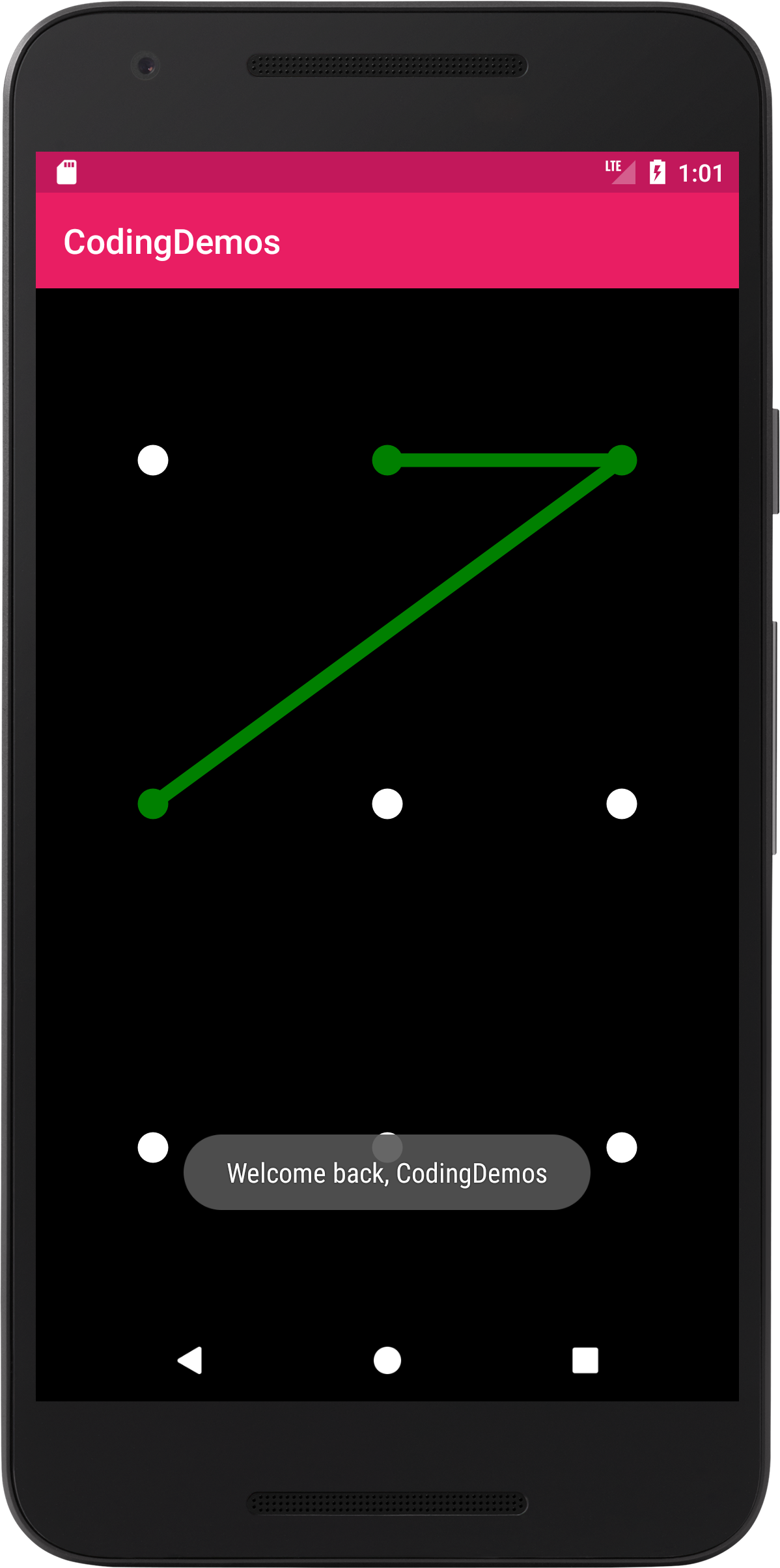 Android Pattern Lock - Add Pattern Lock View to Your App - Coding Demos